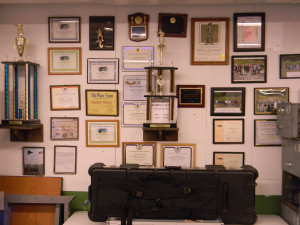 BRCVR&GC Club House - trophies and awards