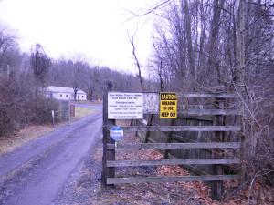 BRCVR&GC front gate