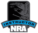 NRA Instructor Badge 150 x 133