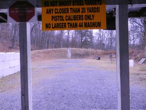 BRCVR&GC Pistol House - 50 yard pistol range