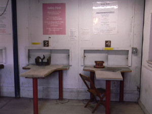 BRCVR&GC rifle house - indoor benches